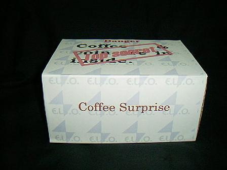 コーヒーサプライズ手品