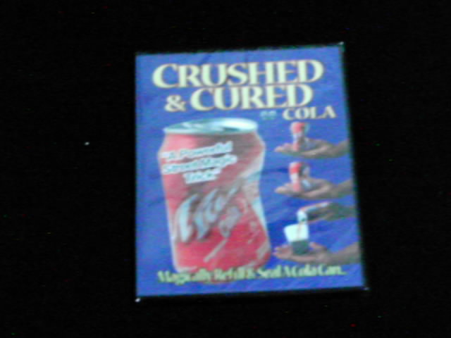 コーラ缶の復活DVD手品