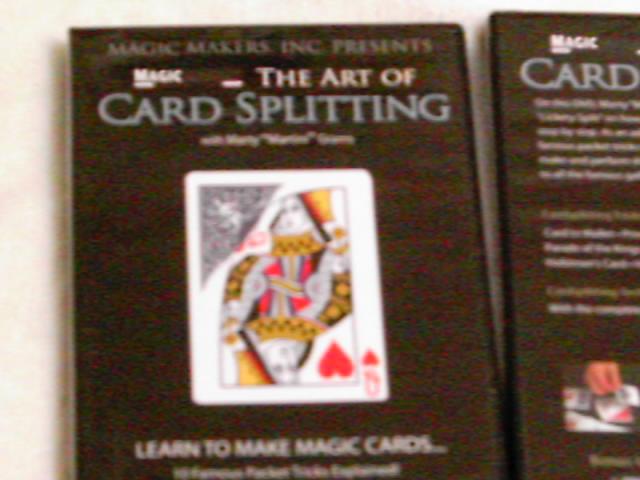 カード加工解説DVD手品
