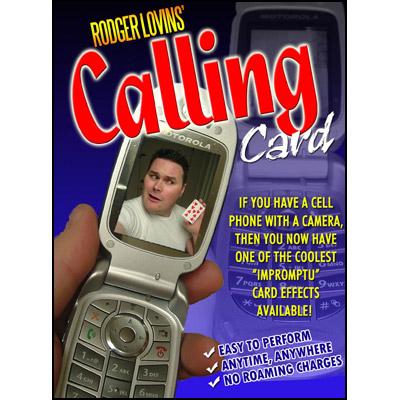 Calling Card(携帯カメラカード)手品