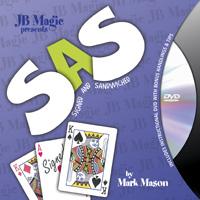 SAS DVD(ギミック付)手品