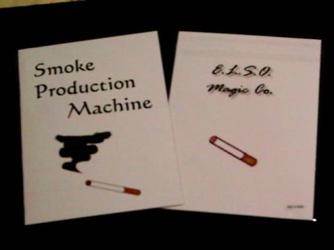 Smoke Production Machine(本)手品