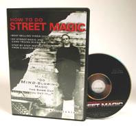 ストリートマジック手品
