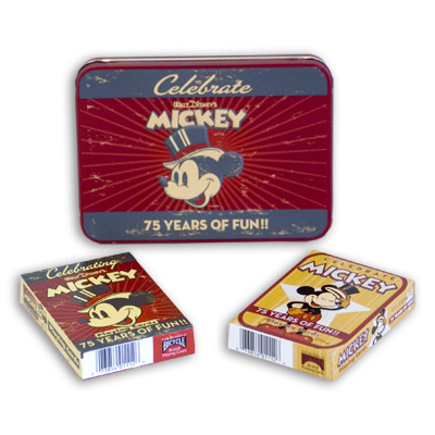 ミッキーマウス75周年カードセット手品