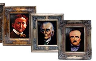 絵画に潜む幽霊手品