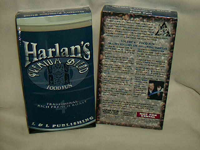 ハーラン 4 VHS手品